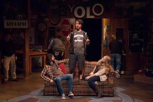 Ross, Beo, and Cass