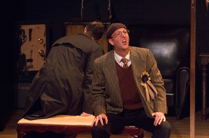 39 Steps - Hannay and Dunwoody