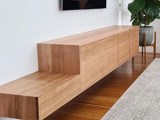 Custom Hardwood Cabinetry