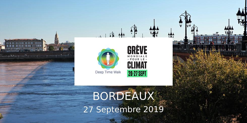 Marche du Temps Profond (Deep Time Walk) - Grève générale pour le climat