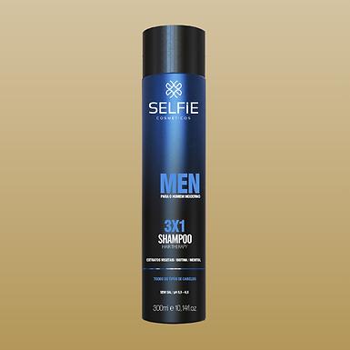 Shampoo Selfie 3 X 1 MEN 300ml