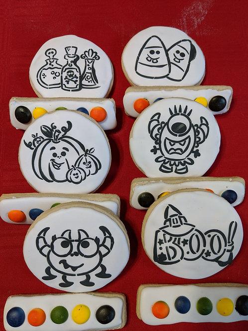 Paint Your Own (PYO) Halloween Cookies
