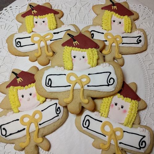 Girl or Boy Graduation Cookies