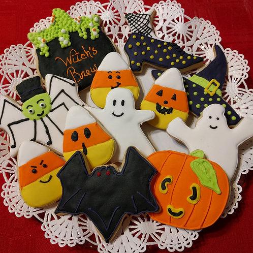 Assorted Halloween Cookie set