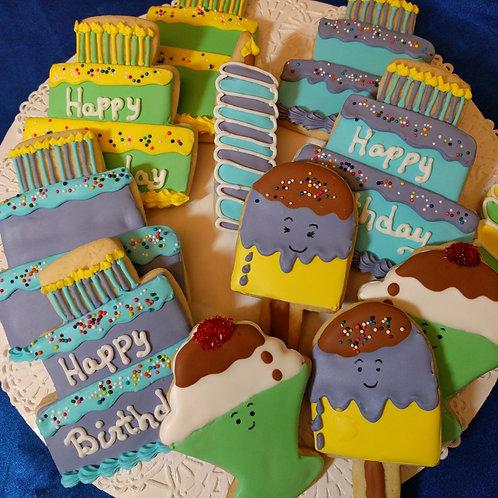 Birthday Assortment Cookies
