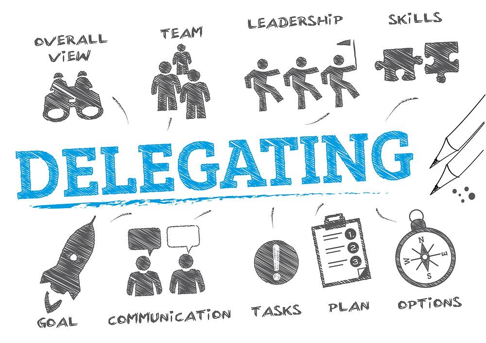 delegating for office work