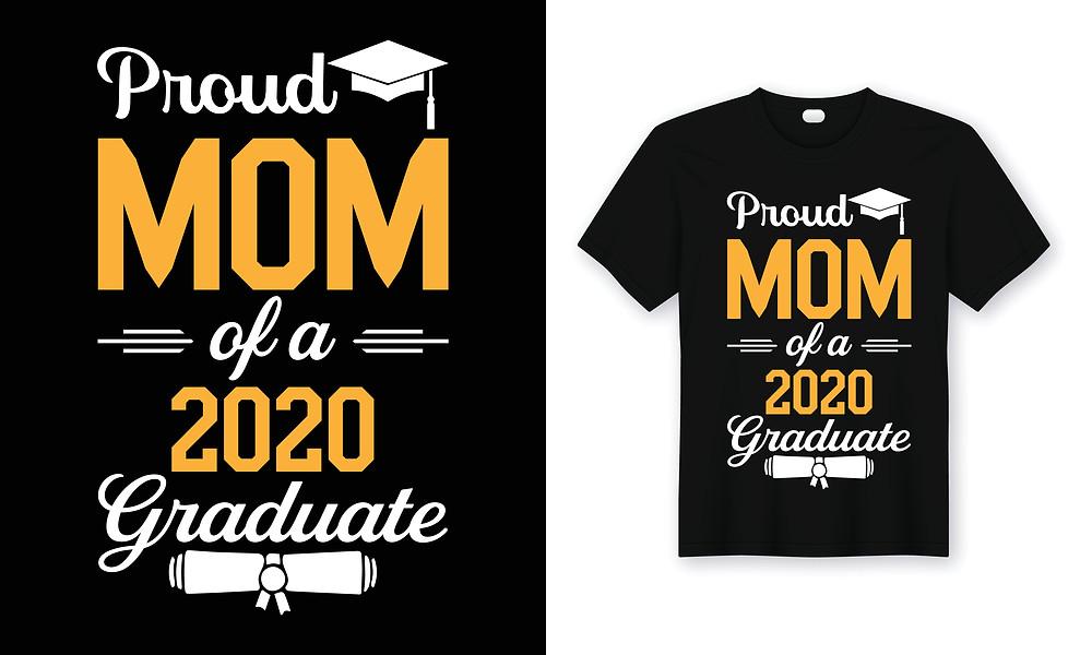 graduate's 2020 mom