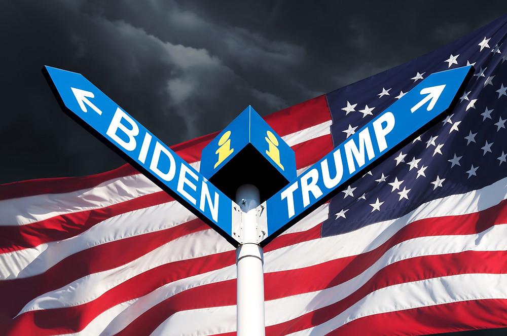 US election Trump vs Biden