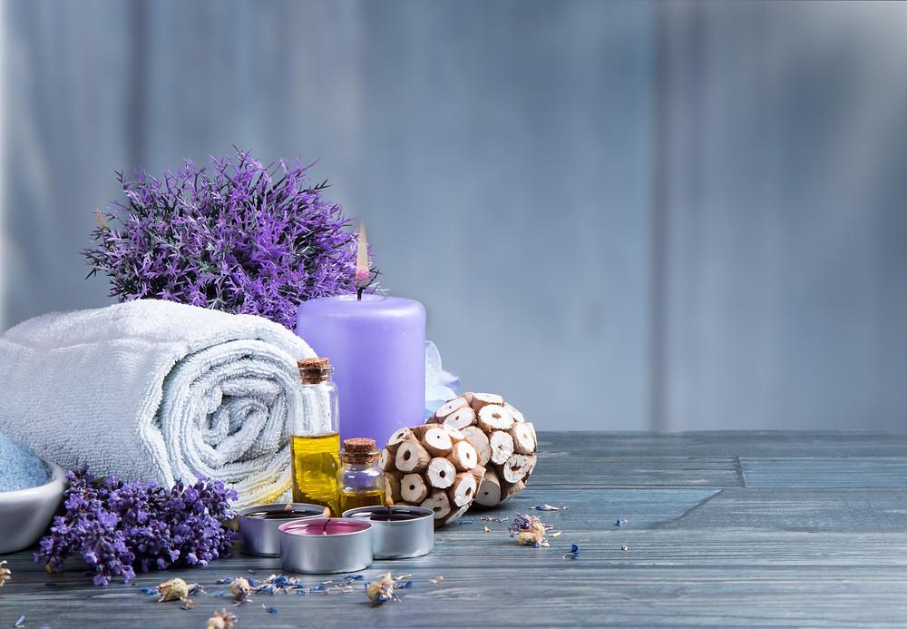 lavender oil while taking bath