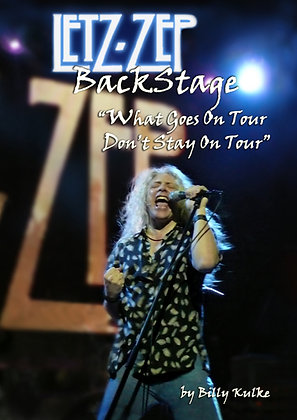 Letz Zep - Backstage KINDLE version - click image for Amazon