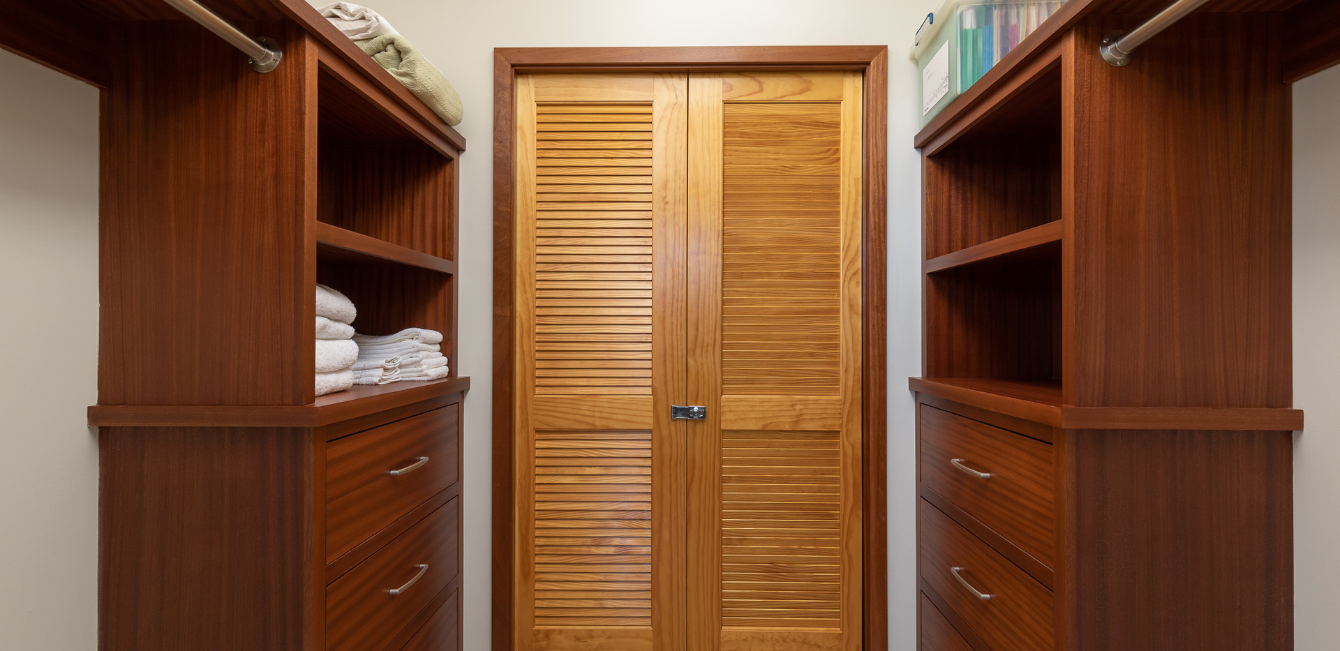 Large closet off of the master bedroom
