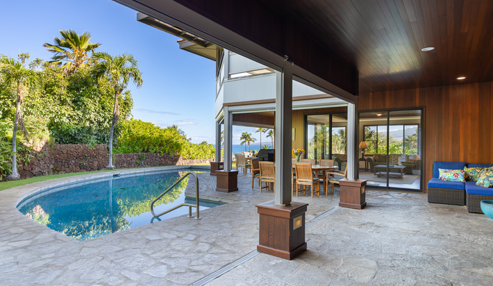 Retractable shades can help keep you cool in the Summer sun