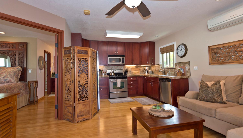 Ocean Ohana Living Room and Kitchen