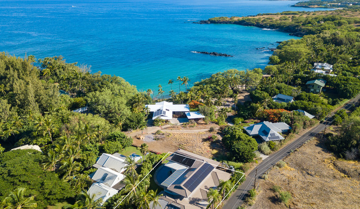 Located in the gated section of Waialea Bay
