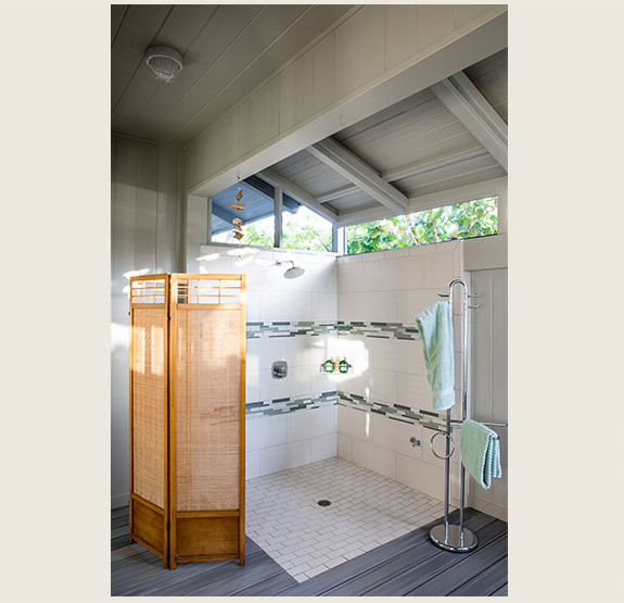 Full Bathroom with Outdoor Shower