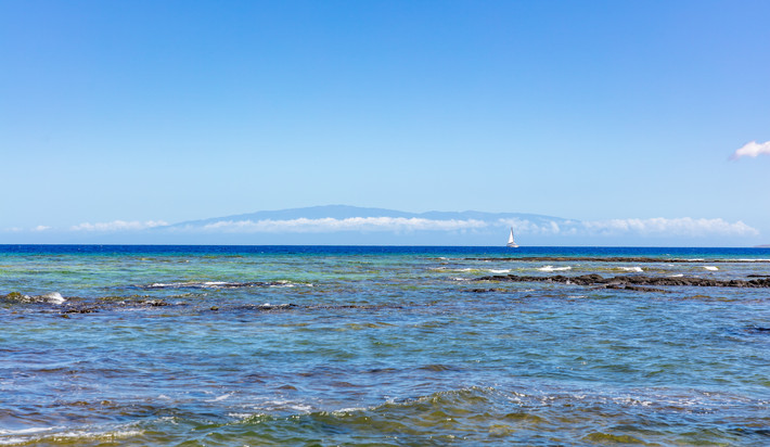 On a clear day you can see Maui