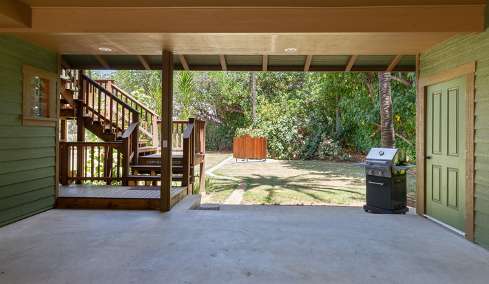 Covered carport to keep your vehicle cool