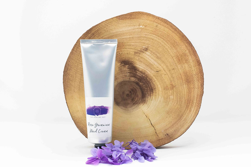 Natural Organic Lavender Hand Cream from The Healing Hut