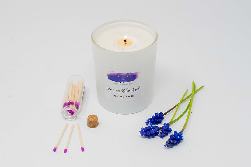 Spring Bluebell: Large Candle