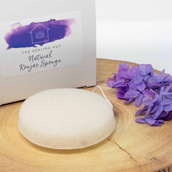 Natural Organic Vegan Skincare Konjac Sponge