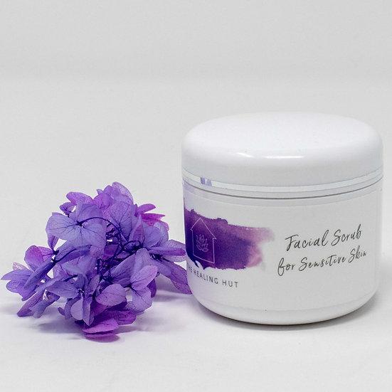 Facial Scrub for Sensitive Skin