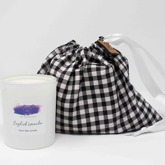 English Lavender Large Candle Vegan from The Healing Hut
