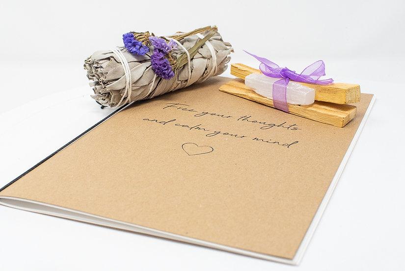 Palo Santo, Sage and Journal Set