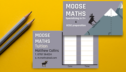 Business Card Graphic Design from Bee More Design