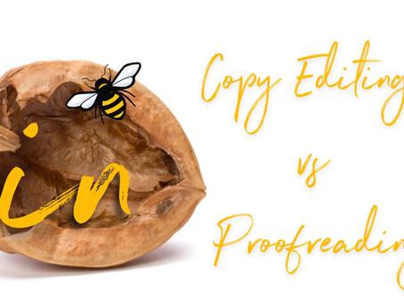 Copy Editing vs. Proofreading: In a Nutshell