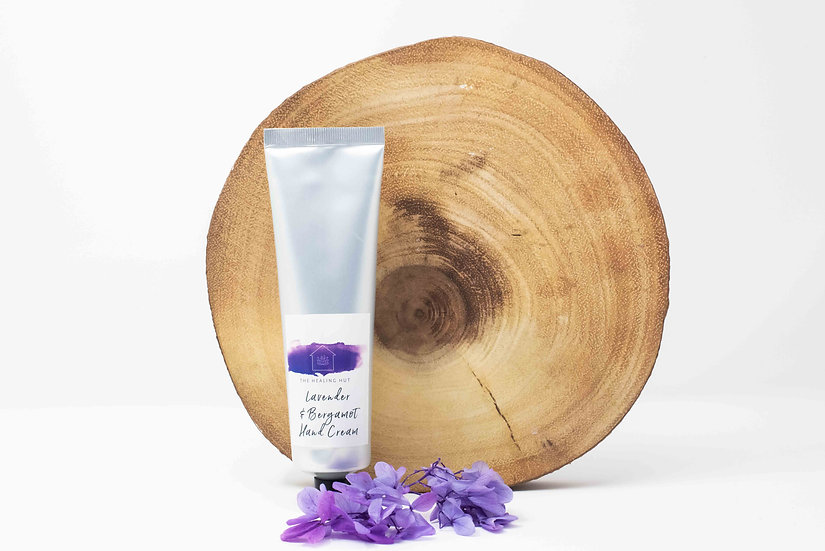 Lavender and Bergamot Natural Hand Butter from The Healing Hut