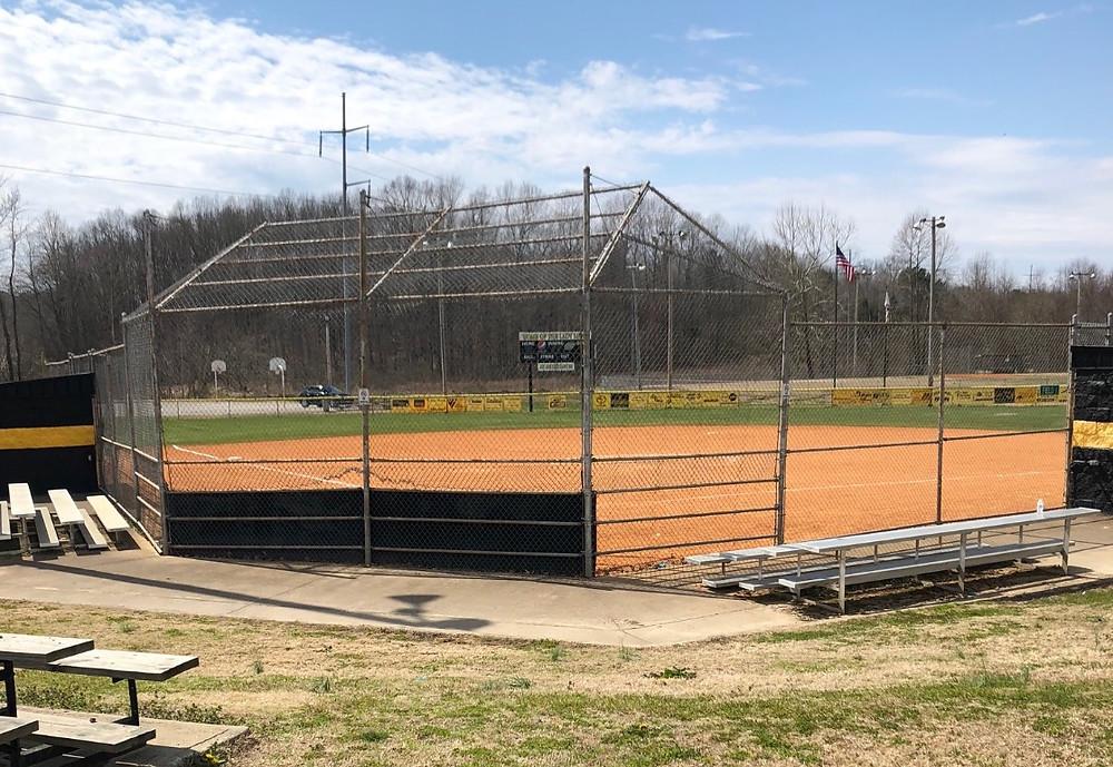 Softball, Camden, Small Town Living