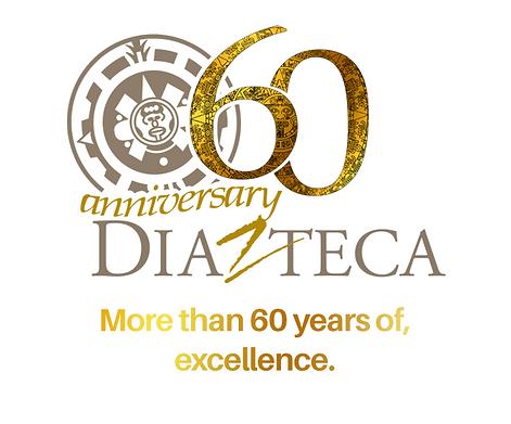 Diazteca 60 anniversary logo