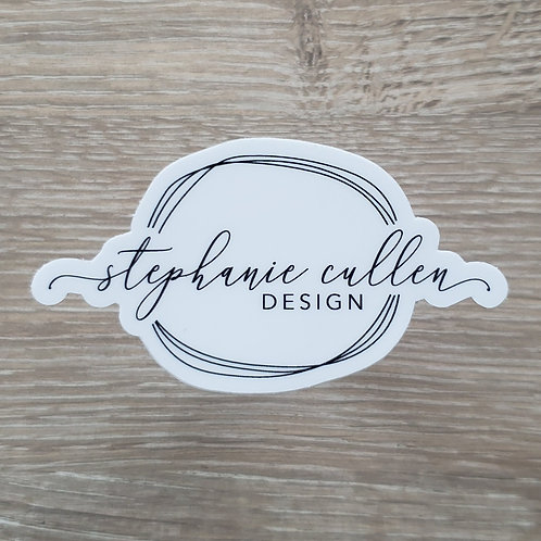 Stephanie Cullen Design Logo Sticker