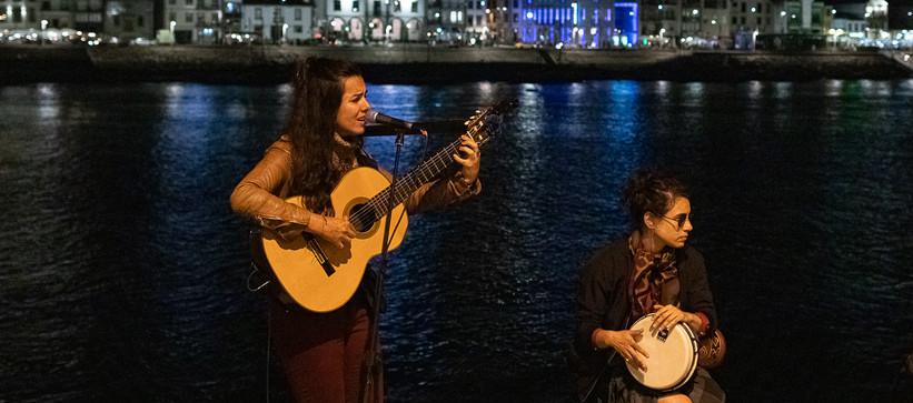 Esquina do Jazz no Porto, Carolina Zingler e Bárbara Mucciollo by Paty Tessmann