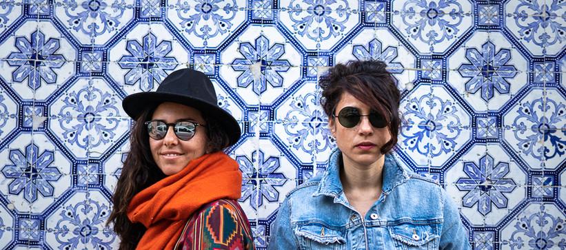 Carolina Zingler e Bárbara Mucciollo em Lisboa, julho de 2019 by Paty Tessmann