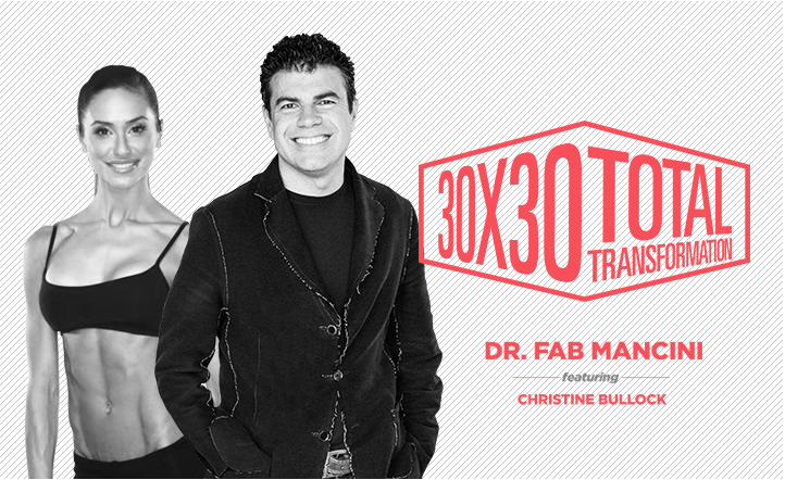 30×30 Total Transformation Course by dr. Fab Mancini and Christine Bullock_The Minimum Effective Dose in Fitness, Meditation and Mindfulness