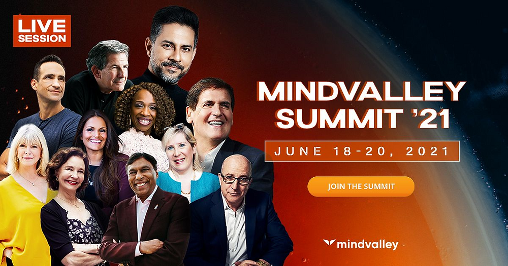 3-Day FREE Mindvalley Summit 2021