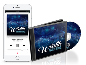 The Wealth Awakening Hypnosis Audio Track By Dr. Steve G Jones For Removing Hidden Money Blockages And Imprinting Powerful, Wealth Attraction Habits In Your Subconscious Mind That Are Primed To Manifest High Financial Abundance