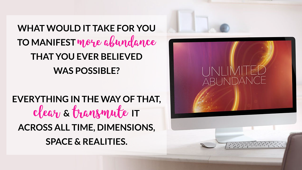 Unlimited Abundance Home Training Program by Christie Marie Sheldon_Clearing Limiting Beliefs around Money and 24 Abundance Blocks to Attract Abundance and Prosperity_Unlimited Abundance Course Review_ Free Energy Clearing Sessions_What Would It Take for You to Manifest More Abundance That You Ever Believed Was Possible? Everything in The Way of That, Clear & Transmute It Across All Time, Dimensions, Space & Realities