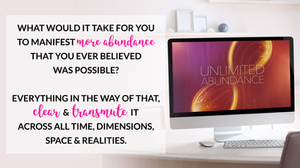 The Unlimited Abundance Home-Training Journey for Releasing 24 Abundance Blocks by Christie Marie Sheldon