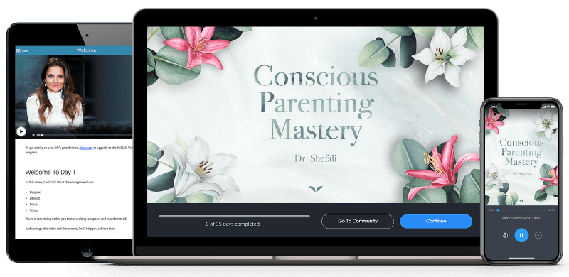 Raise Yourself And Break Generational Patterns That Run In Your Family, Before You Raise Your Children: The Conscious Parenting Mastery by Dr. Shefali