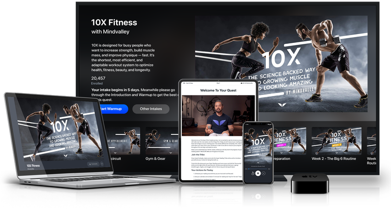 10X - A Brand-New Fitness Protocol That Gives You Your Dream Body In Just Two 15-Minute Weekly Workouts By Harnessing The Latest Science In Muscle Stimulation
