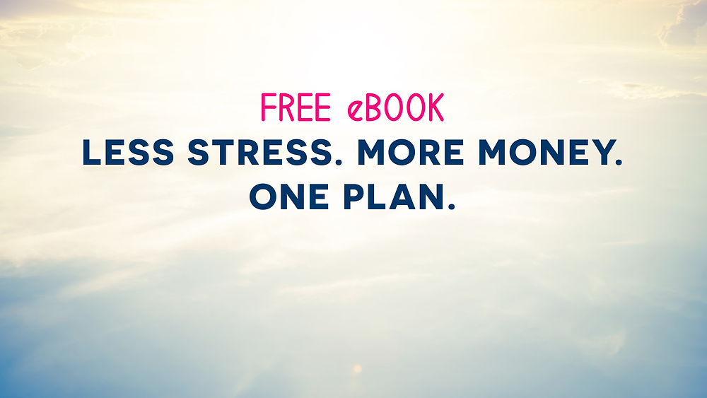 FREE eBOOK Wealth Brain eBook - Less Stress. More Money. One Plan. >>