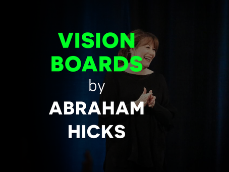 Do Abraham Hicks Recommend Creating A Vision Board?