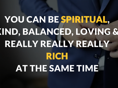 FREE MASTERCLASS: How to Blend Spirituality & Money? The 8 Spiritual Blocks Holding You Back fro