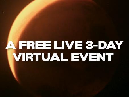 FREE 3-Day Mindvalley Online Summit 2021 Starts Tomorrow!