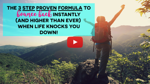 """The 3 Step Proven Formula to Bounce  Back Instantly (and Higher Than Ever)  When Life Knocks You Down by Sonia Ricotti Free Masterclass_Get ready to """"Bounce Back BIG""""  and achieve the life you love and deserve!_Be Unsinkable Program Review"""