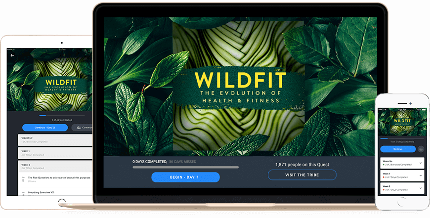 Free Masterclass On Health & Fitness That Changes The Way You Eat And Your Relationship With Food_The Evolution of Health and Fitness Masterclass with Eric Edmeades_The Live WildFit Online Coaching Launch