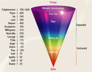 Vibrational and Emotional Scale