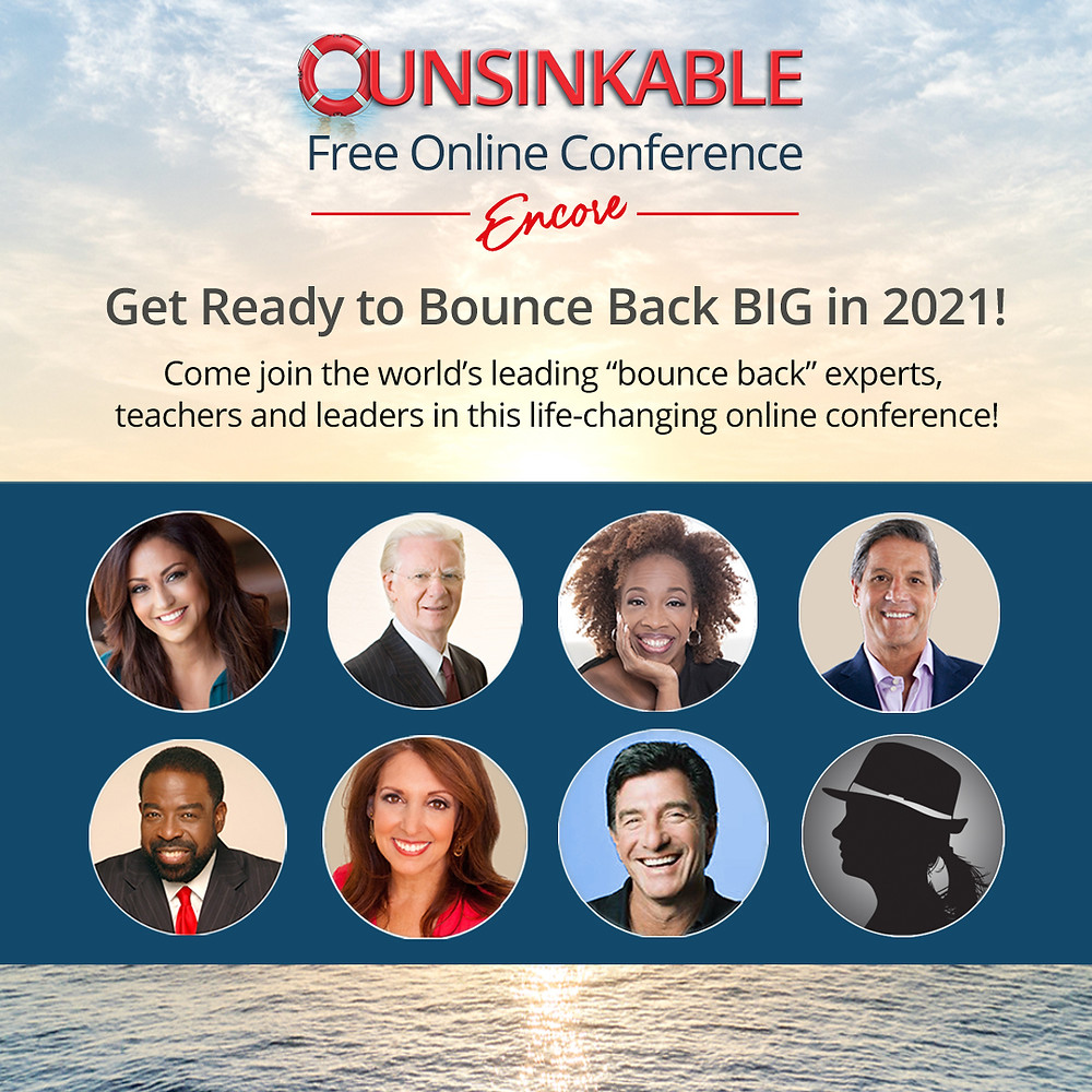 A NEW & FREE Unsinkable ALL-DAY Conference for 2021 by Sonia Ricotti